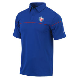 Chicago Cubs OMNI-WICK Breaker Polo