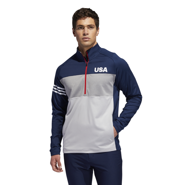 2139174f81 USA Golf 3-Stripes Competition Sweater