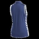 Alternate View 9 of Striped Sleeveless Polo Shirt