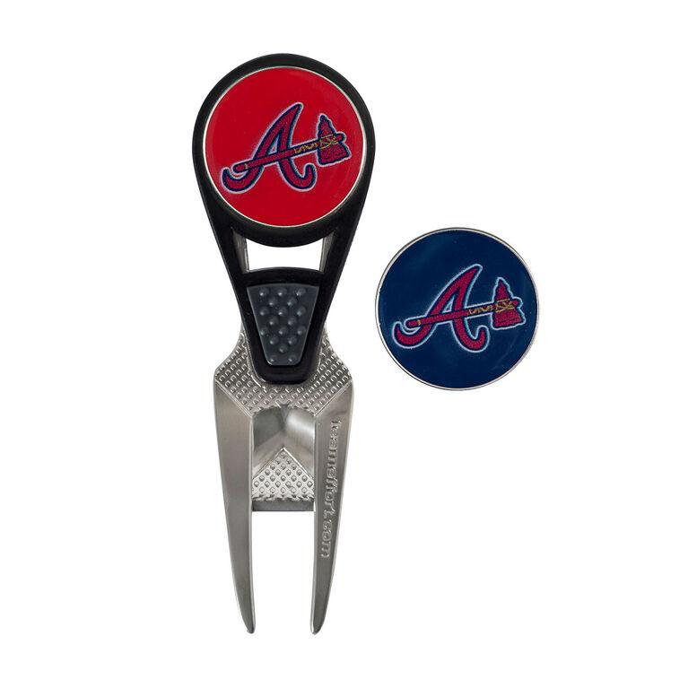 Team Effort Atlanta Braves CVX Ball Mark Repair Tool