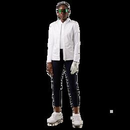 Harlow Croc Print Mid Layer Full Zip Jacket