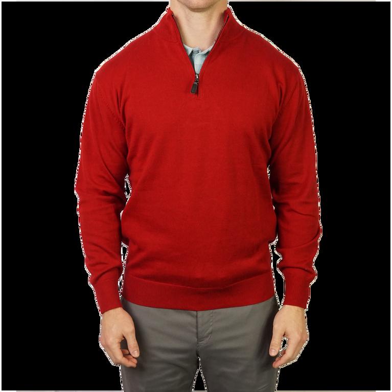 Quarter Zip Fine Gauge Sweater