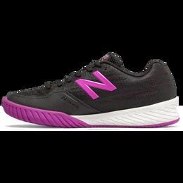 896v2 Women's Tennis Shoe - Black/Purple