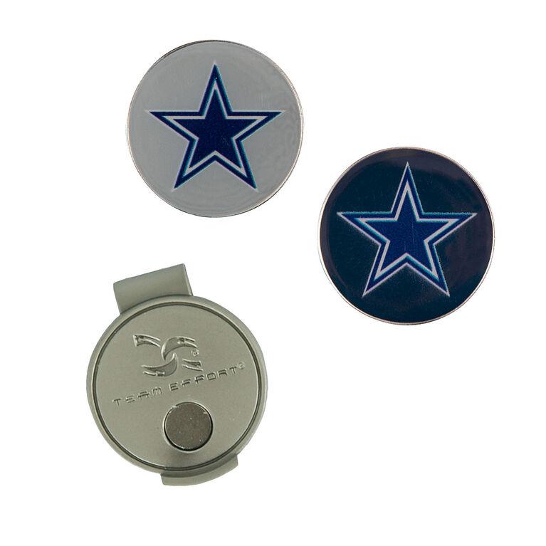 Team Effort Dallas Cowboys Hat Clip & Ball Marker