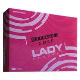 Bridgestone Lady Pink Precept Golf Balls - Personalized