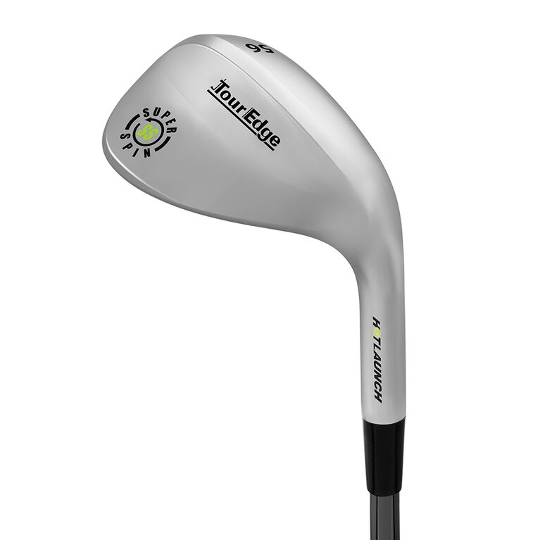 Tour Edge Hot Launch 3 Super Spin Wedge w/ Steel Shaft