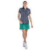Alternate View 3 of Appletini Collection: Short Sleeve Polka Dot Polo