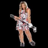 Alternate View 3 of Summer Sensation Collection: Robbie Leaf Print Pleated Hem Dress