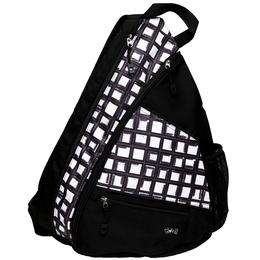 Abstract Pane Pickleball Sling Bag