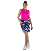 Alternate View 3 of Rojito Collection: Floral A-Line Mina Golf Skort