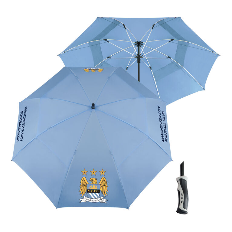 Team Effort Manchester City Windsheer Umbrella
