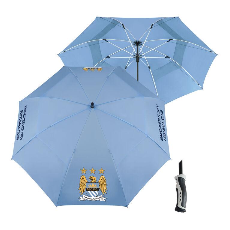 Team Effort Manchester City Windsheer Umbrella