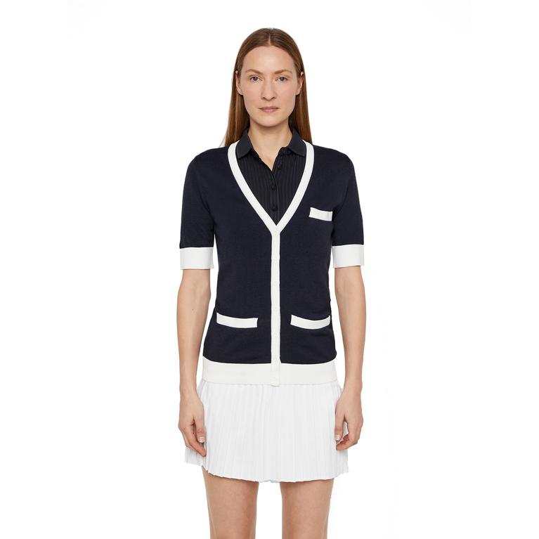 Viola Wool Coolmax Half Sleeve Cardigan