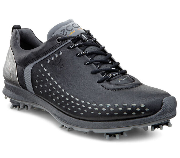 ECCO BIOM G2 Men's Golf Shoe - Black/Silver