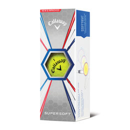 Supersoft Golf Balls - Yellow