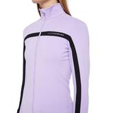Alternate View 3 of Janice Full Zip Midlayer Stripe Jacket