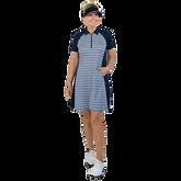 Alternate View 4 of NashVegas Collection: Short Sleeve Ikat Print Dress