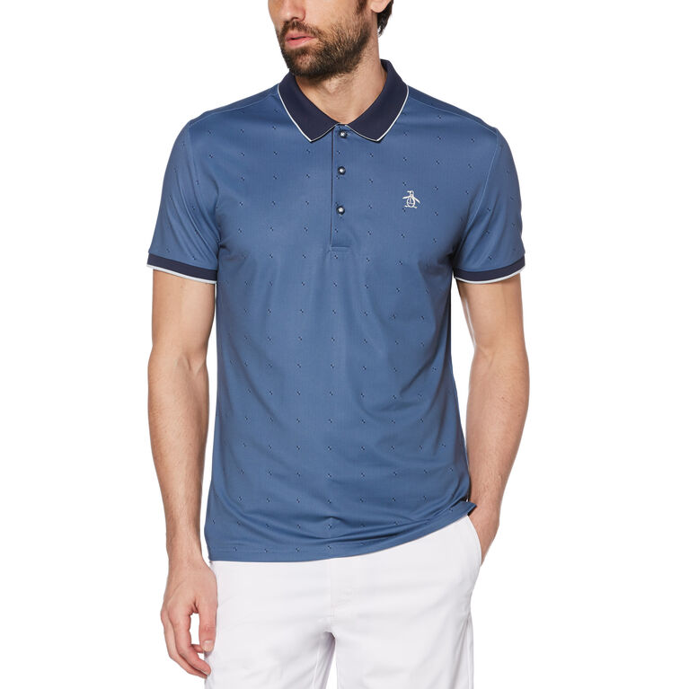 Geo Square Golf Polo