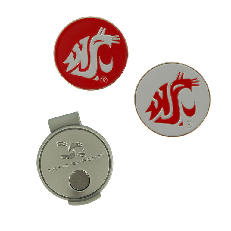 Team Effort Washington State Cougars Hat Clip