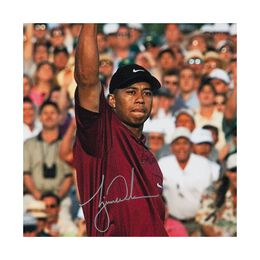 """Tiger Woods Autographed """"2001 Masters"""" 20X24"""