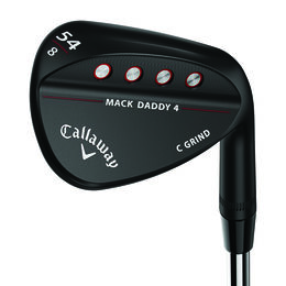Callaway MD4 Matte Black Steel Wedge