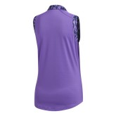 Alternate View 9 of Ultimate365 Printed Sleeveless Polo Shirt
