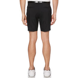 "Flat Front 7"" Fashion Golf Short with Active Waistband"