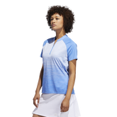 Alternate View 3 of Minted Blues Collection: Ombre Short Sleeve Polo Shirt