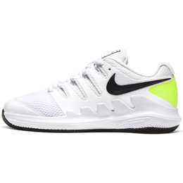NikeCourt Jr. Vapor X Kids' Tennis Shoe - White/Yellow