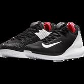 Air Zoom Zero Men's Tennis Shoe - Black/Red/White