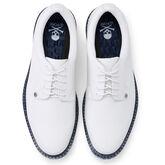 Alternate View 2 of Camo Gallivanter Men's Golf Shoe - White/Blue