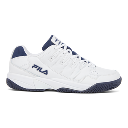Men's Double Bounce Pickleball Shoe - White / Navy