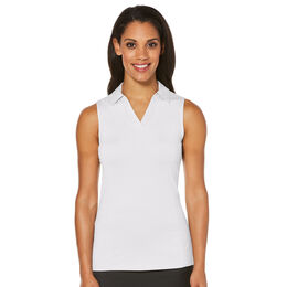 PGA TOUR Women's Sleeveless Airflux Breathable Polo
