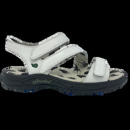 Harmony Spiked Women's Golf Sandal - White