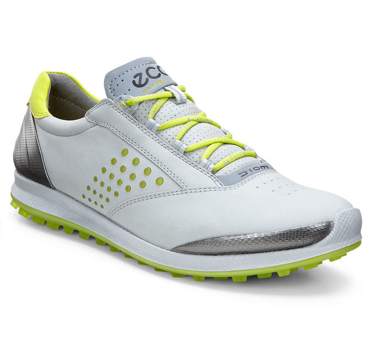 547423cd494f ECCO BIOM Hybrid 2 Women s Golf Shoe - Grey Yellow Shop Now