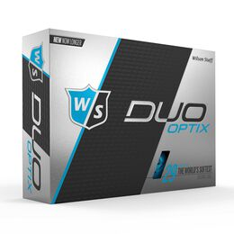 Wilson Staff DUO Soft Optix Blue Golf Balls