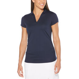 Lilac and Navy Group: Short Sleeve Airflux Polo