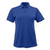 Alternate View 1 of Short Sleeve Shadow Stripe Women's Polo