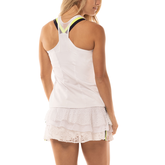 Alternate View 2 of Lace Yourself Collection: Hi-Zip Mesh Tennis Cami Tank Top