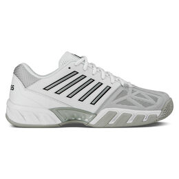 K-Swiss Bigshot Light 3 Men's Tennis Shoe - White/Silver