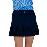 """Alternate View 4 of Rojito Collection: Knife Pleat 14"""" Skort"""