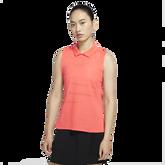 Dri-FIT Ace Women's Sleeveless Stripe Ace Golf Polo