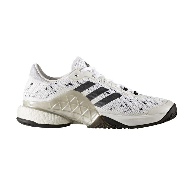 adidas Barricade 2017 boost Men's Tennis Shoe - White/Black