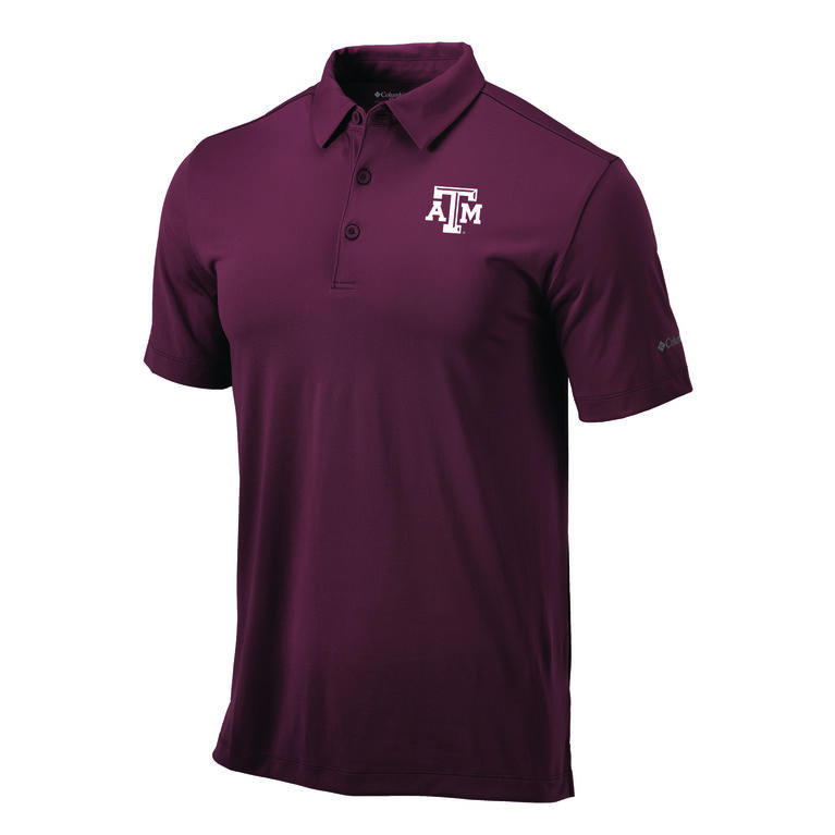 Columbia Texas A&M OMNI-WICK Drive Polo