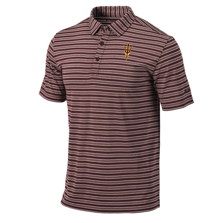 Columbia Arizona State Member Stripe Polo