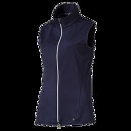 Women's Full Zip Knit Golf Vest
