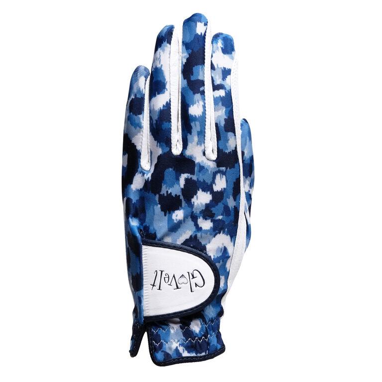 Blue Leopard Glove