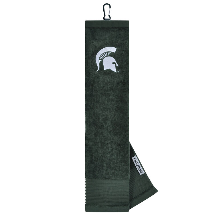 Team Effort Michigan State Spartans Trifold Towel
