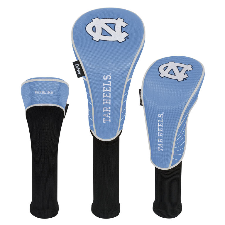 Team Effort North Carolina Tarheels Headcover Set of 3