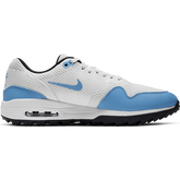 Alternate View 1 of Air Max 1 G Men's Golf Shoe - White/Carolina Blue